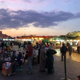The Path to Jemaa el-Fna